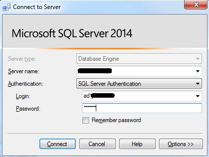 SQL Server login Error 18456 - SQL Service